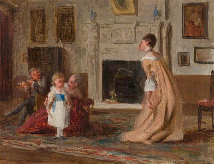 The Dancing Lesson - Laslett John Pott