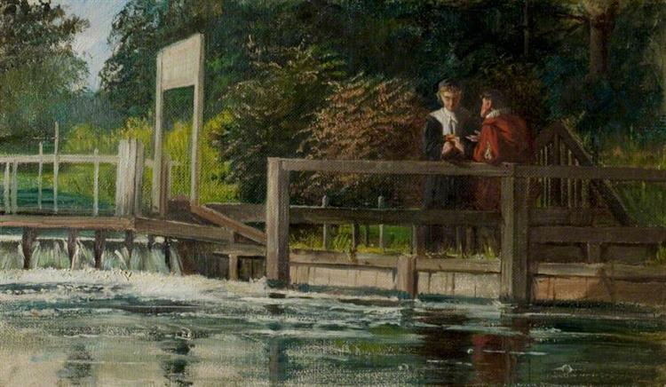 The Trysting Place - Laslett John Pott