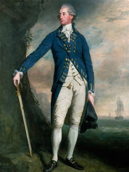 Portrait of Captain George Montagu, 1790 - Lemuel Francis Abbott