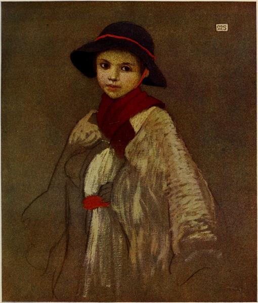 A SHEPHERD-BOY OF FELSOBANYA, 1909 - Marianne Stokes