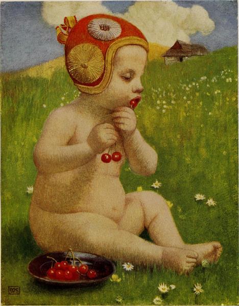A LITTLE SLOVAK, 1909 - Marianne Stokes