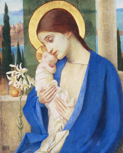 Madonna and Child - Marianne Stokes