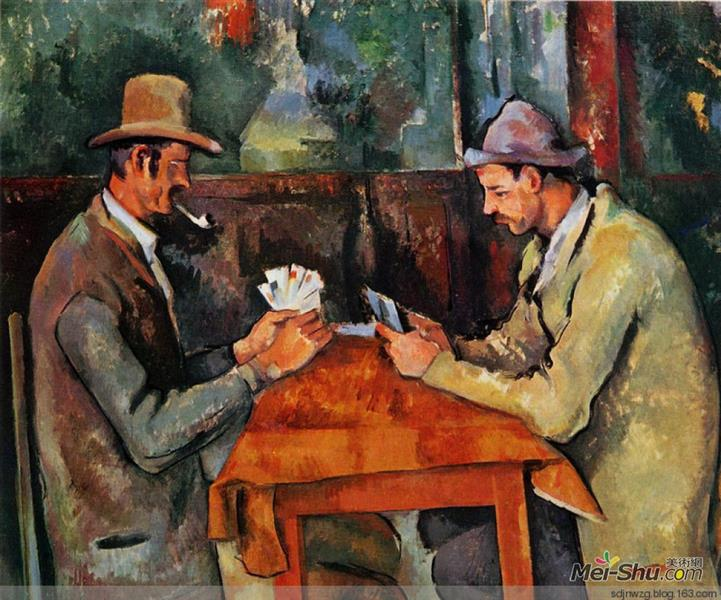 The Card Players - Paul Cezanne