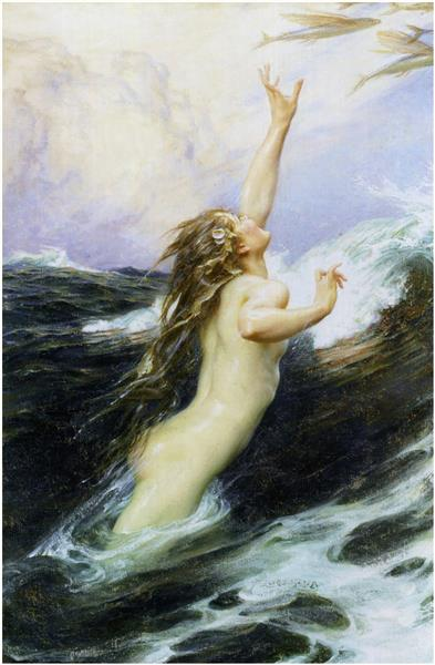 Flying Fish, 1910 - Herbert James Draper