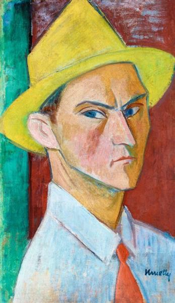 Self Portrait, c.1920 - Kmetty János
