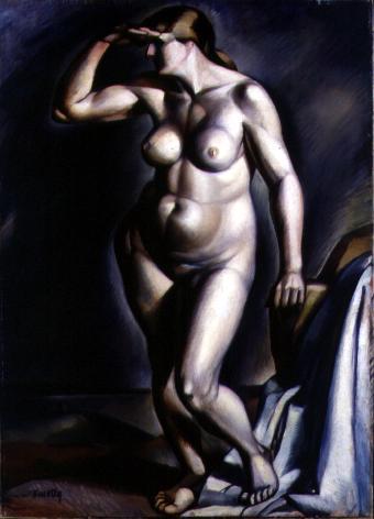 Nude, 1918 - Kmetty János