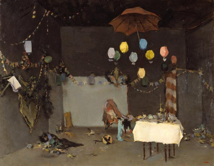 Studio Interior - Ramon Casas