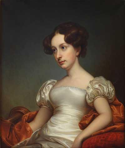 Catharine Peabody Gardner - Rembrandt Peale