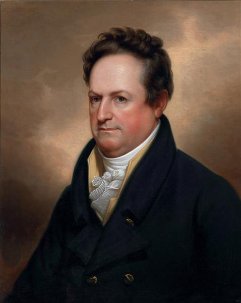 Portrait of Dewitt Clinton - Rembrandt Peale