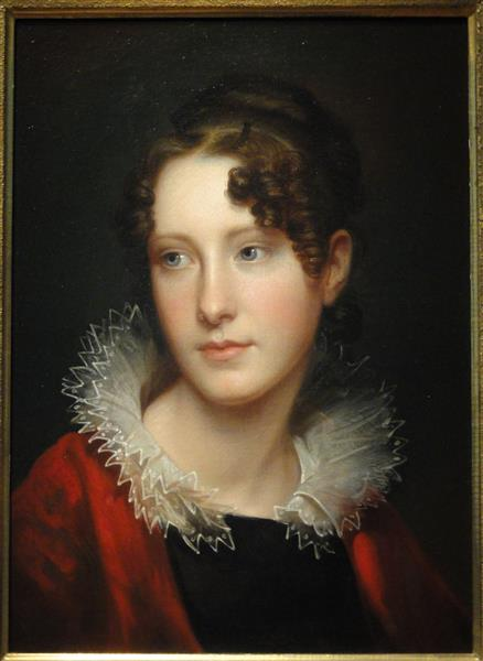 Portrait of Rosalba Peale, c.1820 - Рембрандт Пил