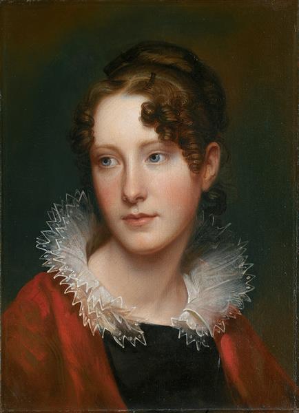 Portrait of Rosalba Peale - Rembrandt Peale