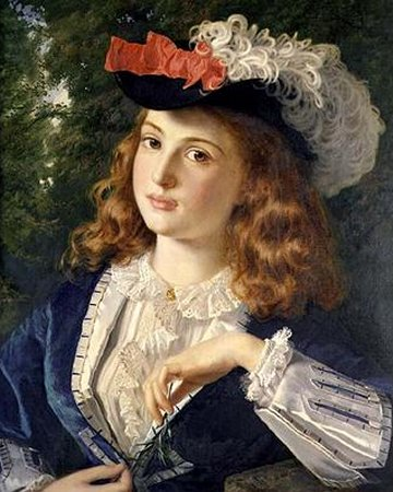A Spring Beauty - Sophie Gengembre Anderson