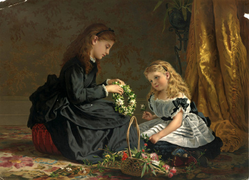 The Last Tribute of Love - Sophie Gengembre Anderson