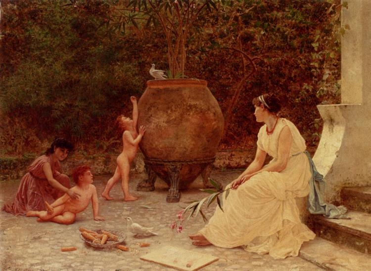 When the Heart Is Young - Sophie Gengembre Anderson