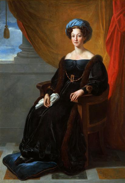 Portrait of Klementyna Ostrowska Née Sanguszko - Vincenzo Camuccini
