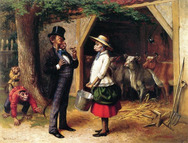 Who's Afraid, 1884 - William Holbrook Beard