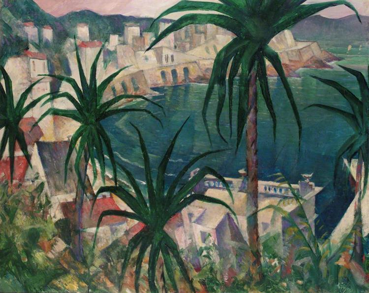 La Corniche, 1920 - C. R. W. Nevinson