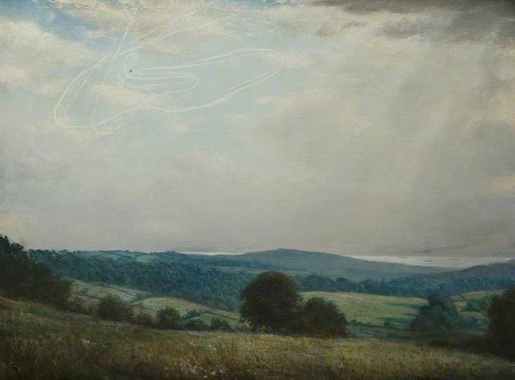One Summer's Day - C. R. W. Nevinson