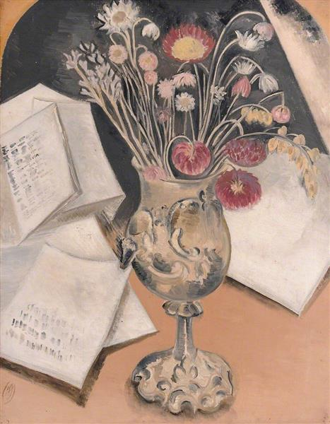 Bouquet, 1930 - Paul Nash
