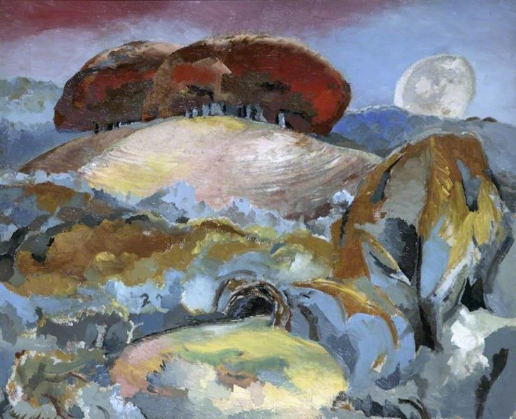 Landscape of the Moon's Last Phase, 1944 - Paul Nash