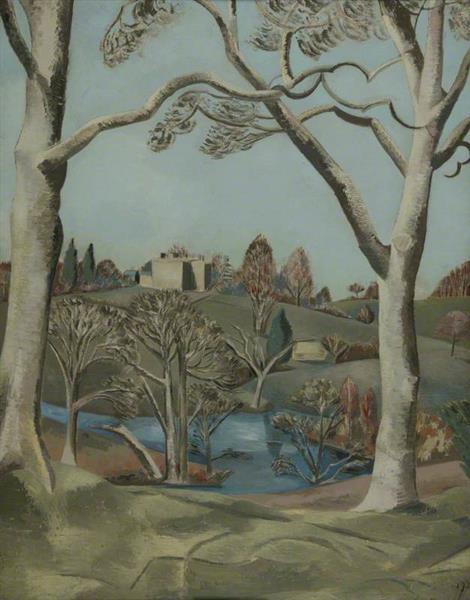 Sandling Park, Kent, 1924 - Paul Nash