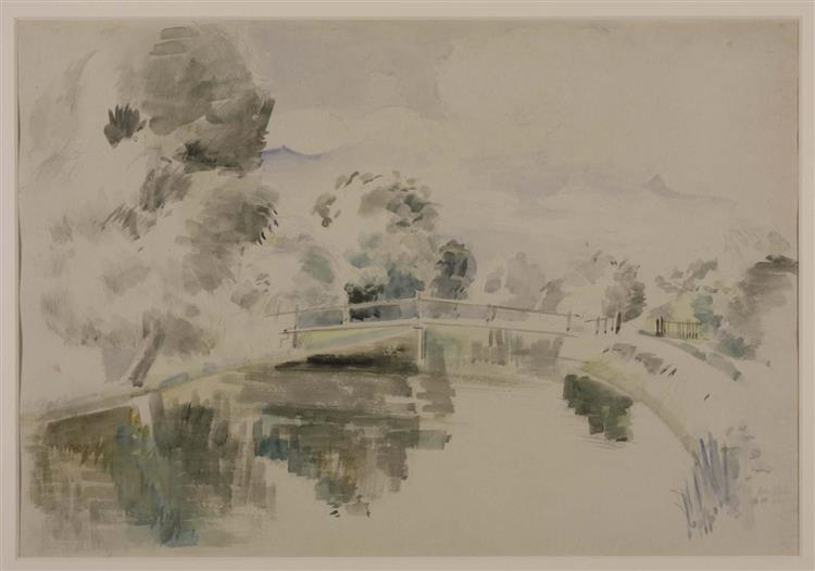 The Colne, 1925 - Paul Nash