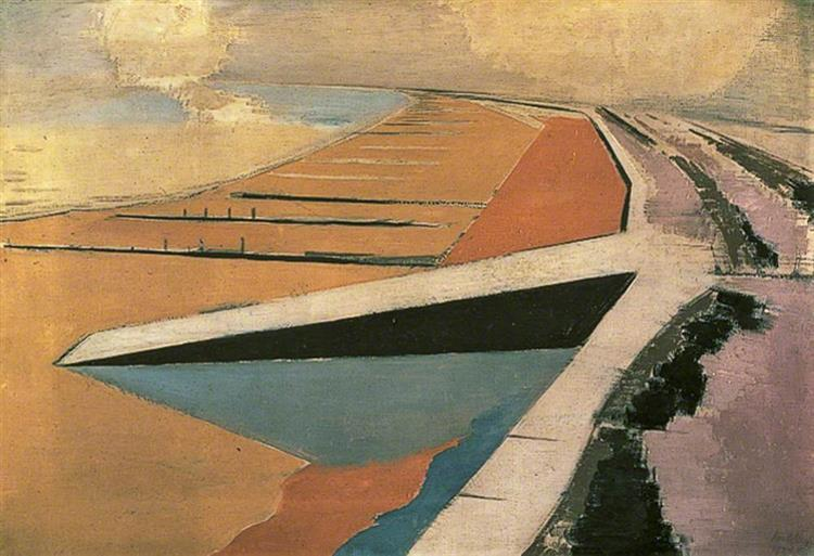 The Shore, 1923 - Paul Nash