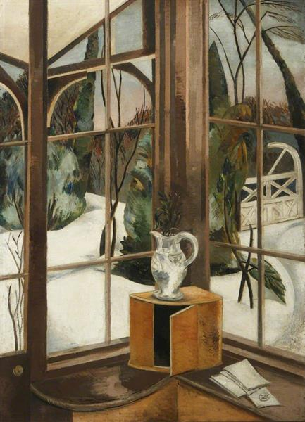 The Window, Iver Heath, 1926 - Paul Nash