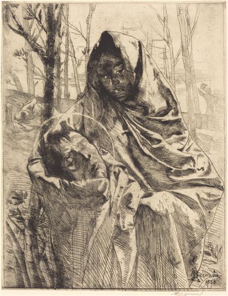 A Martyr, 1883 - Поль Альбер Бенар
