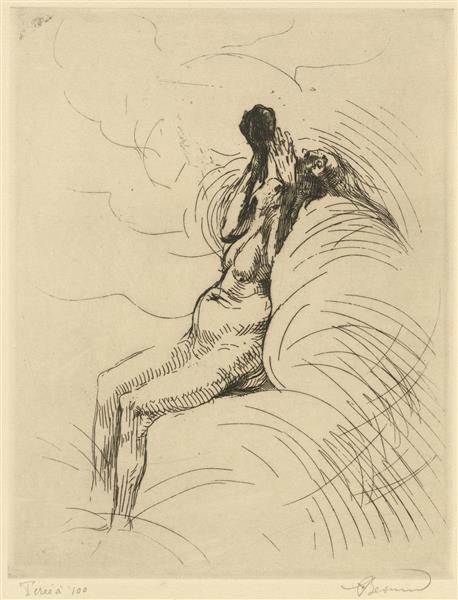 Apotheosis, c.1886 - Paul-Albert Besnard