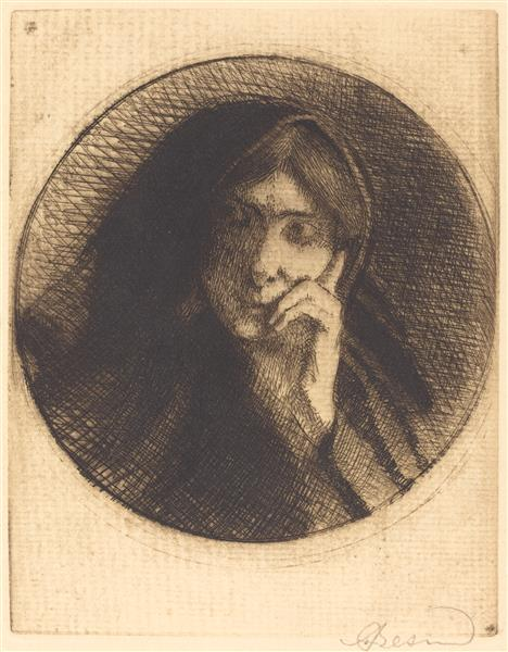 Madame Aman Jean, 1898 - Paul-Albert Besnard