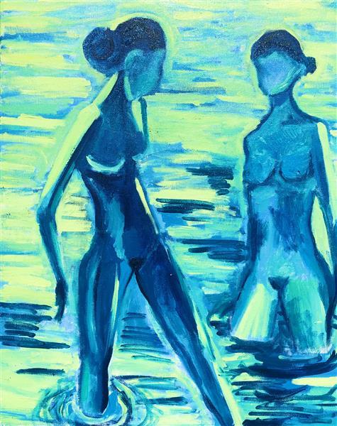 Bathers, 2018 - Emma Odette