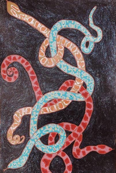 3 Serpent Qui Danse, 2018 - Emma Odette