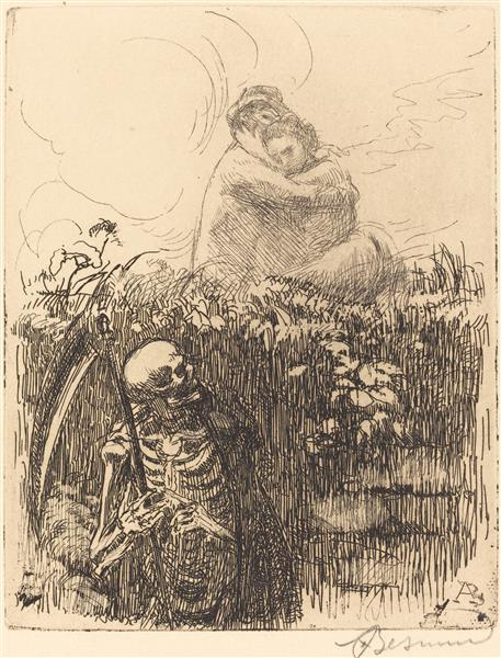 On the Lookout, 1900 - Paul-Albert Besnard