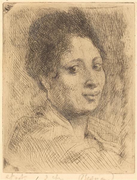 Peppina, 1919 - Paul-Albert Besnard