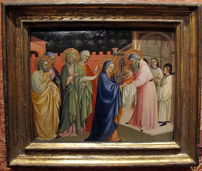 The Presentation in the Temple, c.1430 - Álvaro Pires de Évora