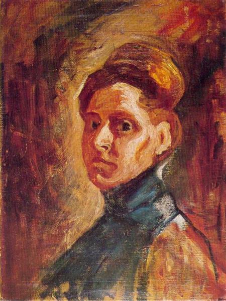 Self Portrait, c.1907 - Nadežda Petrović