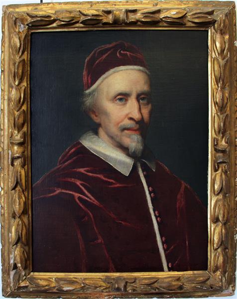 Clemente IX Rospigliosi - Giovanni Battista Gaulli