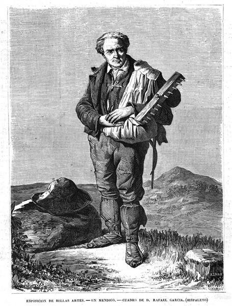 A beggar - Rafael García Hispaleto (El Hispaleto)