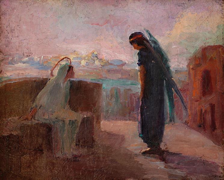 Annunciation, 1910 - Hélène Guinepied
