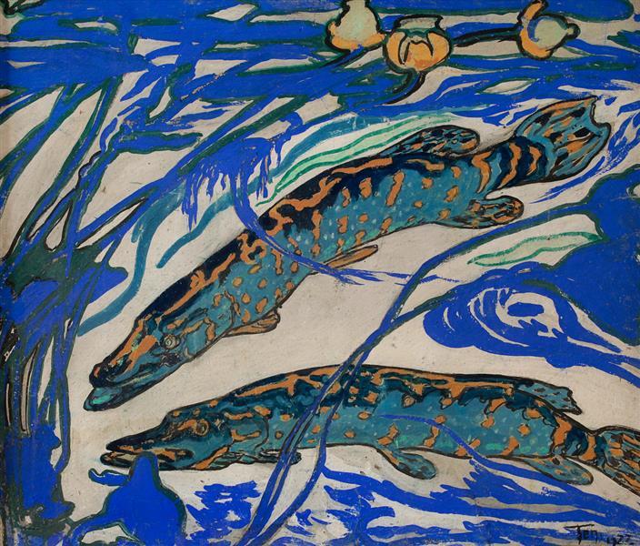 Pike, 1922 - Hélène Guinepied