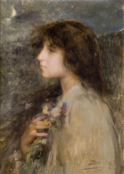 Ensomni, c.1898 - Joan Brull