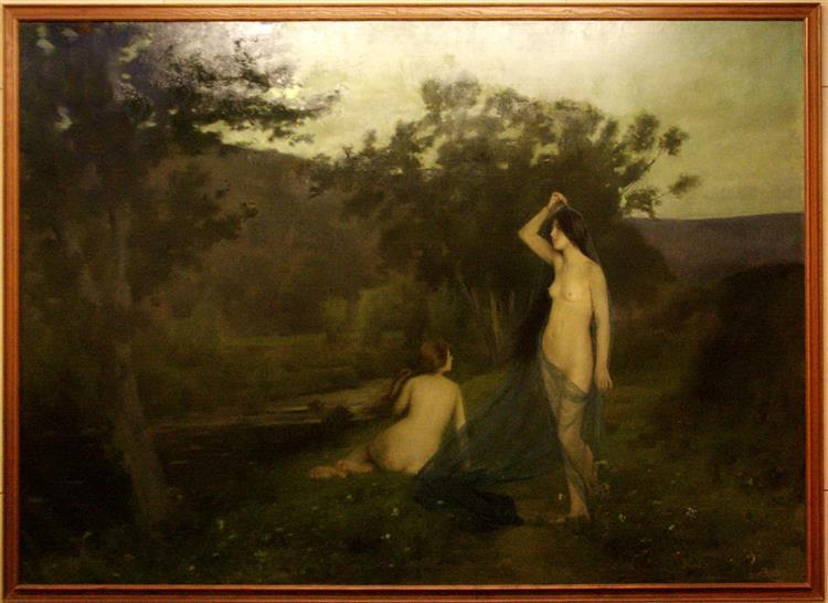 Les Ninfes de l'Ocas, c.1898 - Joan Brull