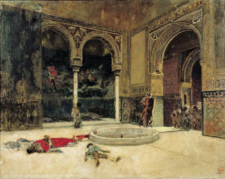 The Slaying of the Abencerrages, c.1870 - Marià Fortuny