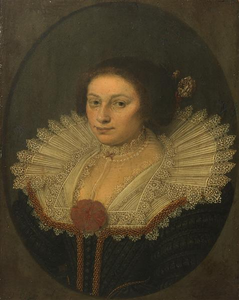 Portrait of Aertje Witsen, 1626 - David Bailly