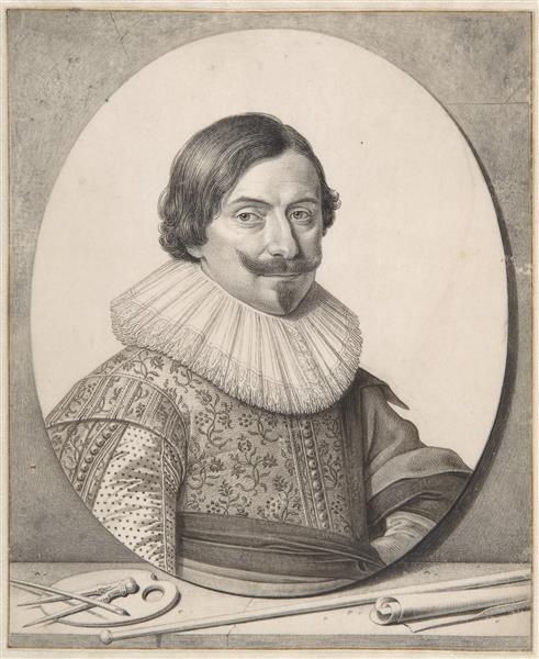 Portrait of the Painter François Gysels - David Bailly