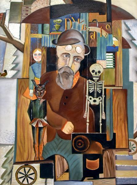Loutkář, 1921 - Jindrich Styrsky