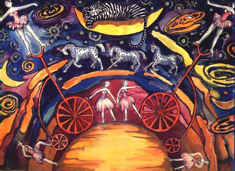 Circus - sun III - Małgorzata Serwatka