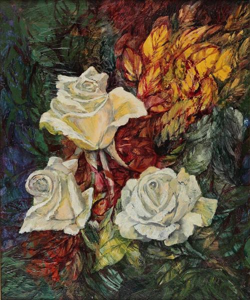 Roses II - Małgorzata Serwatka