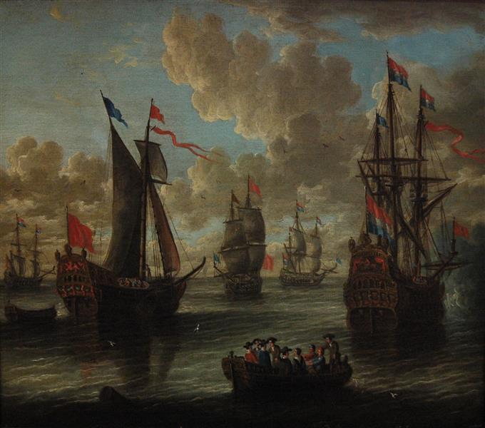 Tableau De Marine - Abraham Storck